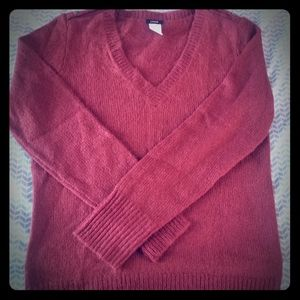 J. Crew  Maroon Sweater